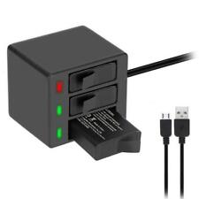 Portable 3-Channel Battery Charger Kit for Gopro HERO 5 Travel