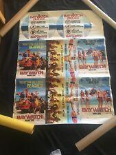 baywatch Super Rare Uncut Promotional Poster Vinyl Material (read Description)