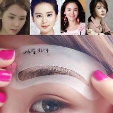 3pcs/set Grooming Stencil Kit Makeup Girl Beauty Eyebrow Shaping DIY Template