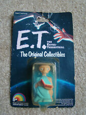 1982 ~ E.T. The Extra-Terrestrial Original Collectible Figure / Doll  on Card