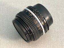 Nikon Nikkor 50mm f1.8 Prime Full Frame Prime Lens Ais - (#4)