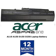 Battery for Acer Aspire One D250 D150 A150 A110 ZG5 531 KAV10 KAV60 UM08A73