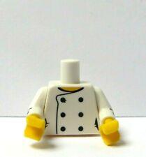 Black Pigtails Hair @@ 664 LEGO Minifig old026 @@ Legoland White Torso