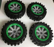 Wheels Tire Monster truck Rim 4pcs hub for Losi 5ive-t DBXL DBXL-e 1/5 rc car