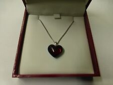 The Baccarat Romance crystal love red heart necklace 2807152