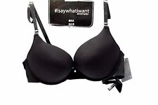 Black Bra  From I Say What I Want Intimates  Size 34B Full Coverage Push Up