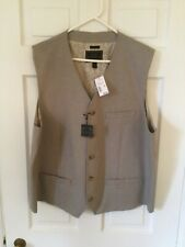 Men's Jos A Bank Button Down Vest Size 2X New With Tags