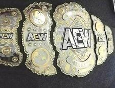 AEW World Championship Wrestling Replica Leather Belt 4mm