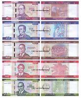 Liberia 5 + 10 + 20 + 50 + 100 Dollars 2016 Set of 5 Banknotes 5 PCS  UNC