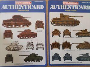 HUMBROL AUTHENTICARD Tank x3