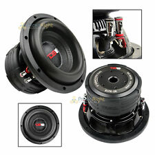"DS18 Elite Z8 8"" Subwoofer Dual 4 Ohm 900 Watts Max Bass Sub Speaker Car"