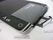 Original Audi A6 Fußmatten (4G), Premium Textilmatten aus Velours mit Schriftzug
