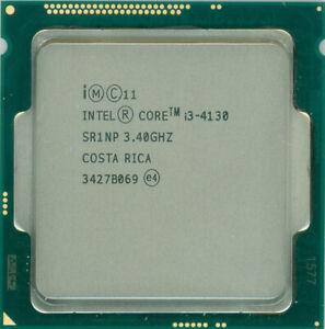 Intel Core i3-4130 Prozessor mit 2 x 3.40GHz CPU Sockel 1150 3MB Dual-Core SR1NP