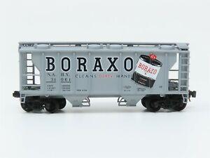 N Scale Atlas 31793 NAHX Boraxo 2-Bay Covered Hopper #31061