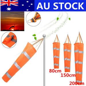 Windsock Bag Direction Reflective Belts Outdoor Sports Windsock Airport Flag AU