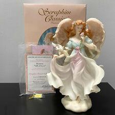 "Seraphim Classics Rosanna Gift of Love 13"" Angel Figurine Mib Coa Limited Ed"