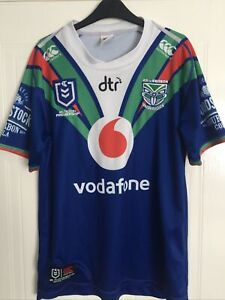 Nrl New Zealand Warriors Rugby League Shirt Size L Canterbury 2019
