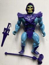 Skeletor (Near Complete) Vintage 1981 MOTU Masters of the Universe He-Man Orange