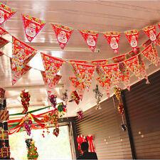 Atmosphäre Verstärkung Froh Weihnachten Wimpel Fahnen Jubeln Party Banner Zierde