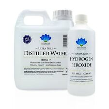 12% Food Grade Hydrogen Peroxide & Distilled Water Kit