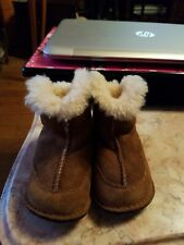 Brown Baby Uggs baby toddler Size Medium Winter Boots # 5206
