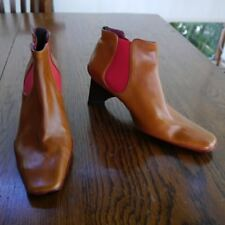 Uad Medani Zapatos UM Carmel Leather Women's Shoes Pixie Ankle Boots Spain 7 37