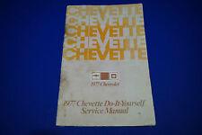 1977 Chevette Chevrolet Do-It-Yourself Service Manual GM S2503