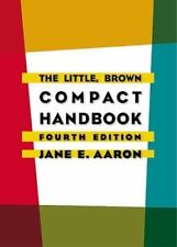 NEW - The Little, Brown Compact Handbook (4th Edition) by Aaron, Jane E.