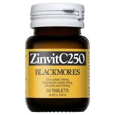 Blackmores Zinvit C 250mg 50 Tablets