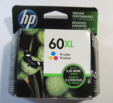 GENUINE HP 60XL Color HIGH YIELD Ink Cartridge (HP CC644WN) 2017 NEW SEALED!!!!