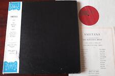 Smetana la sociedad de ópera truecan novia 3-LP Lenzer OPS 101/3 casi como nuevo Inglaterra década de 1950