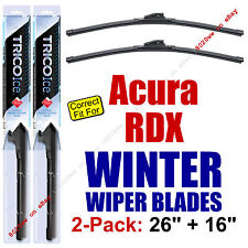 WINTER Wiper Blades 2-Pack Premium - fit 2007+ Acura RDX Wipers - 35260/160