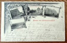 Giessmannsdorf / Sprottau - Brauerei, Kirche, Stärke-Fabrik - gelaufen 1907