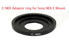 C-NEX C-Mount Adaptor fits Cine CCTV Lenses to Sony NEX E Mount Body - UK SELLER