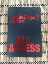The Cure Curiosa Festival 2004 All Access Backstage Pass