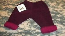 baby turtle fur made in USA bottoms pants plum infant