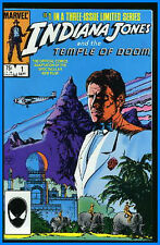 INDIANA JONES TEMPLE OF DOOM #1-3 VERY FINE/NEAR MINT COMPLETE SET 1984 #nb-0371