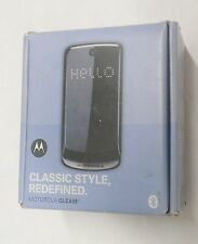 Motorola Gleam Mobile Phone Cell Device - Blue - International use only