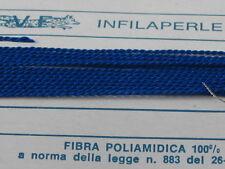 infilaperle professionali blu chiaro+ ago in rame lun.180cm a scelta 9 diametri-