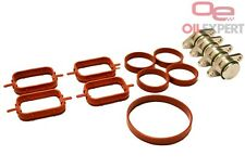 22 mm Swirl Flap Blanking Plates Kit with Intake Manifold Gasket for BMW  4items