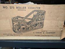 "J.Chein, USA ""Roller Coaster 275""  - 1949 Original Box"