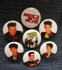"""1"""" pinback buttons inspired by New Kids On the Block NKOTB"""