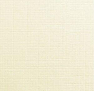 DALTON MANOR LINEN EMBOSSED CARD 220GM IVORY 10/25 OR 50 SHEET PACKS
