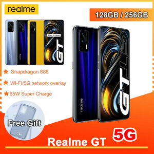 "realme GT Snapdragon 888 5G Phone 12GB+256GB 4500mAh 6.43"" FHD+ AMOLED 64MP NFC"