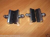 2 Pair Weinmann Typ X Muster Block 40MM FÜR STAHL & Leichtmetallrad BREMSKLÖTZE