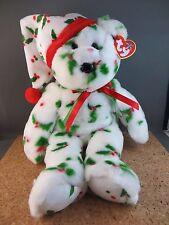 Ty Beanie Buddy 2002 (1998) Holiday Teddy Plush Christmas Decor Toy Bear