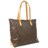 LOUIS VUITTON CABAS MEZZO HAND TOTE BAG TH0061 PURSE MONOGRAM M51151 AUTH 36824