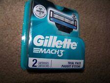 NEW Gillette Mach3 Blades ~ 5x2 Blade Packages = 10 Blades