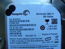 320 Go Seagate st3320613as/9fz162-503/sd23/TK/100496208 REV A Hard Disk