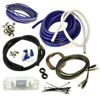 True 4 Gauge Amp Kit Amplifier Installation Power Complete Wiring Cable Audio